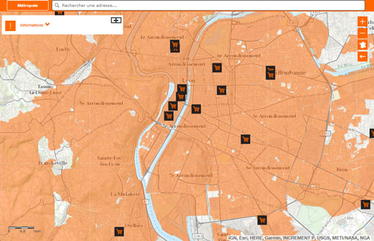 couverture ftth lyon orange